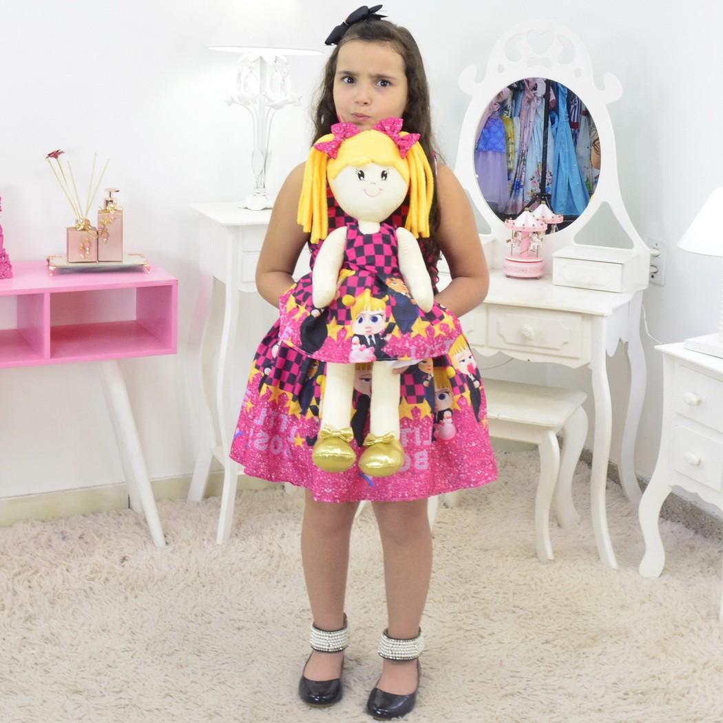Tal Menina Tal Boneca - Vestido Poderosa Chefinha