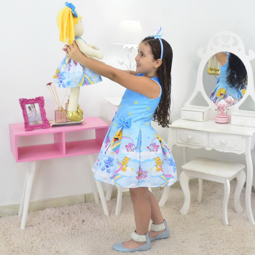Tal Menina Tal Boneca - Vestido Ursinhos Carinhosos
