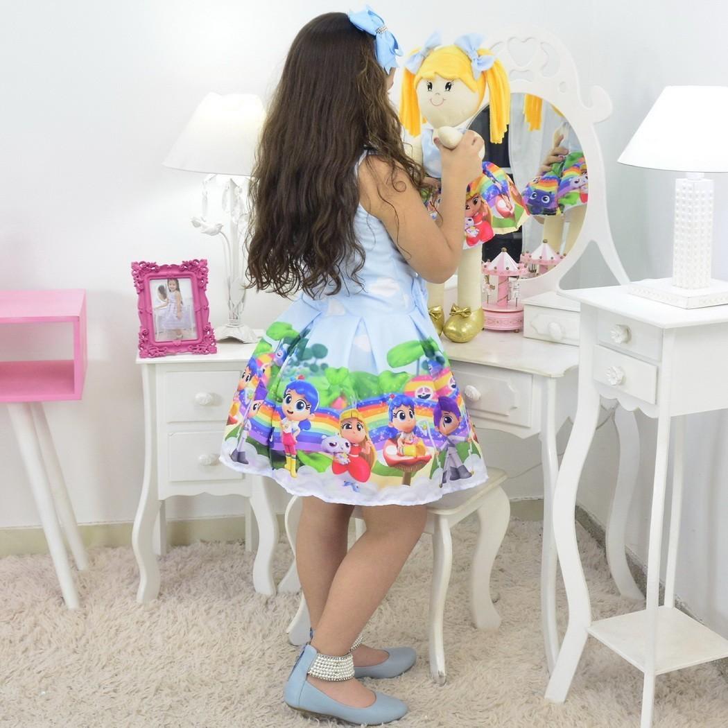 Tal Menina Tal Boneca - Vestido Vera e o Reino do Arco-Íris