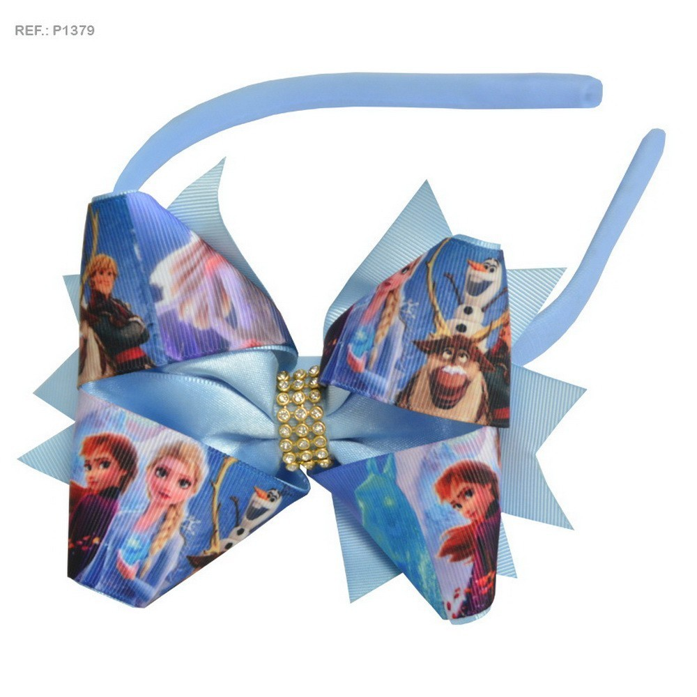 Tiara para cabelo temática Frozen