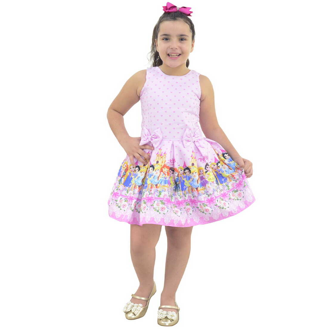 Vestido das Princesas Disney Cute