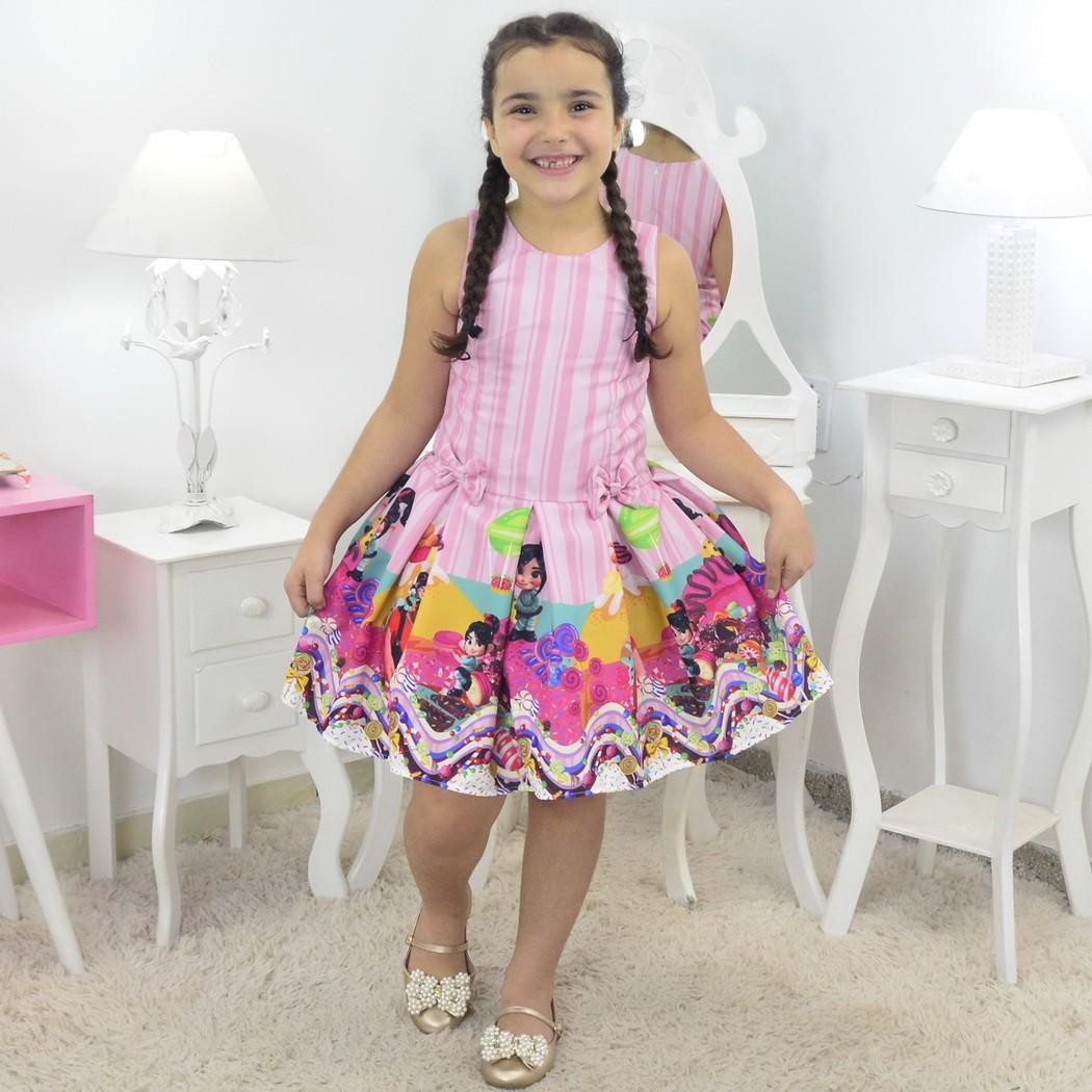 Vestido Detona Ralph Vanellope