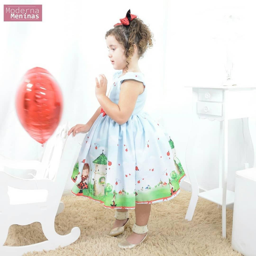 Vestido festa infantil da princesa Joaninha - Festa