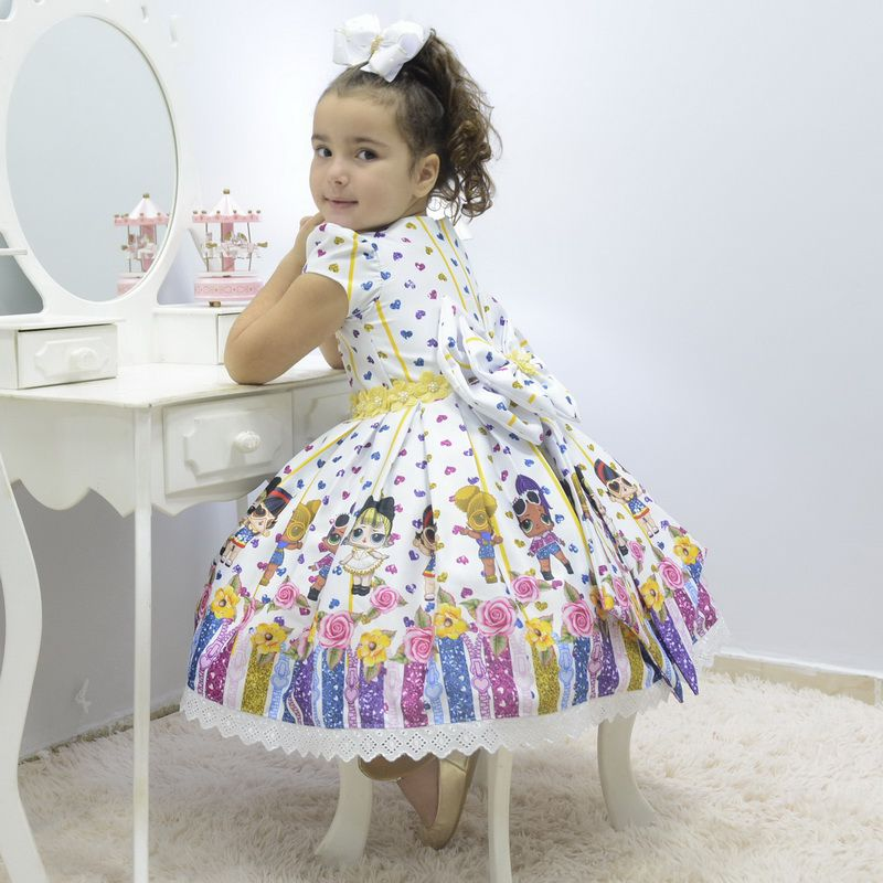 Vestido infantil Lol Surprise Under Wraps