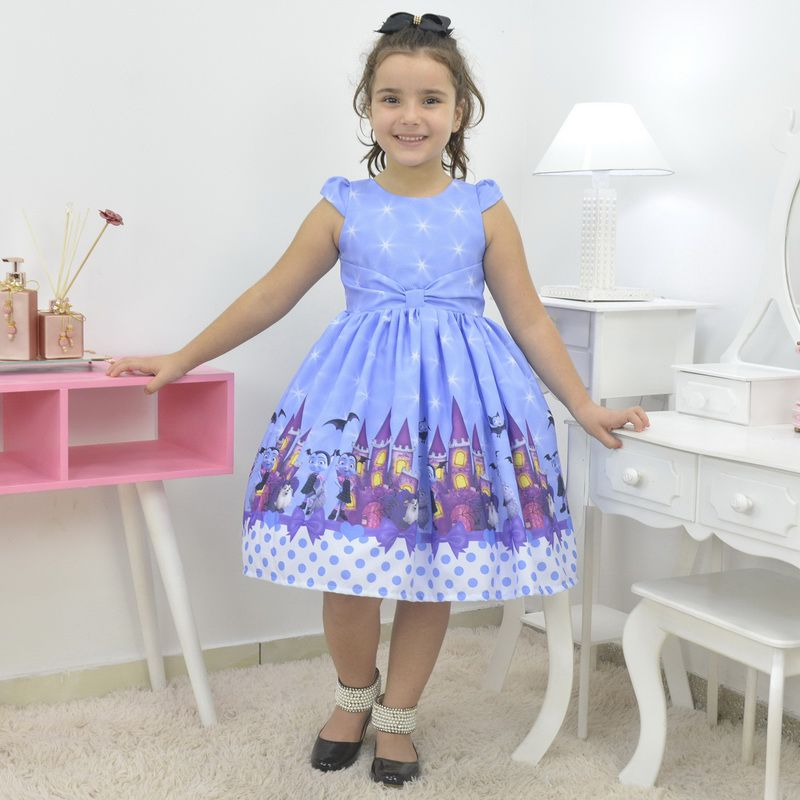 Vestido infantil tema Vampirina