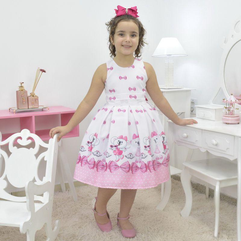 Vestido infantil temático da Coala Lilica Ripilica