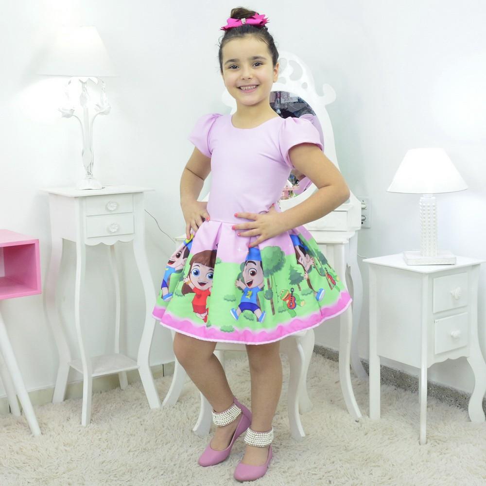 Vestido Luccas Neto e Gi Rosa
