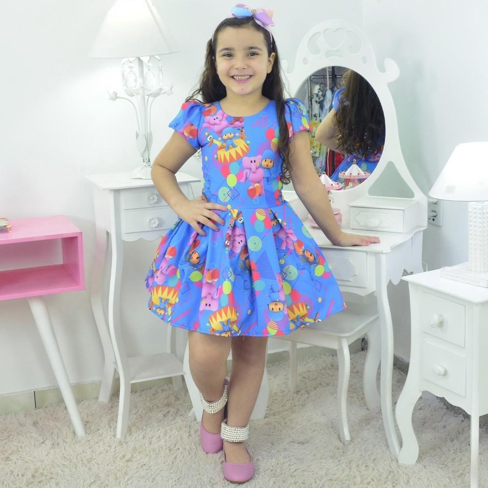 Vestido Pocoyo Azul