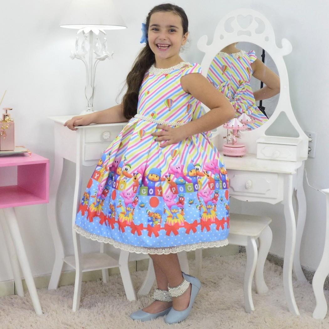 Vestido Pocoyo luxuoso