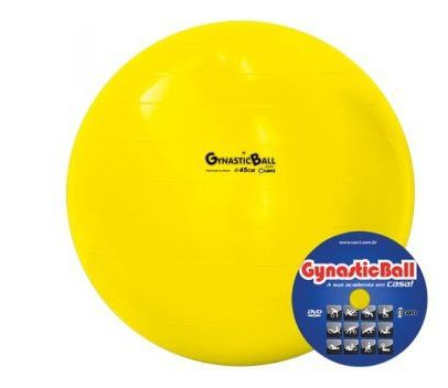 Bola de Pilates Ø45cm Gynastic Ball Carci - Cirúrgica João f7007860198c6