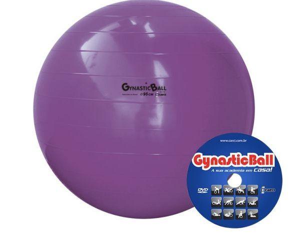 Bola de Pilates Ø95cm Gynastic Ball Carci - Cirúrgica João adec1a628c68b
