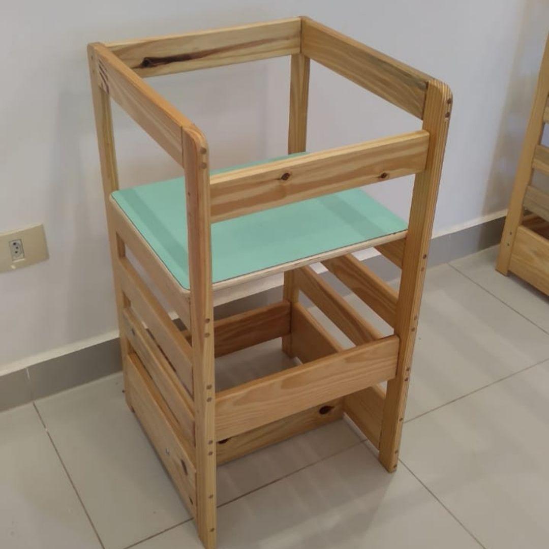 Torre de Aprendizagem 3 em 1  - Montessori - FIXA
