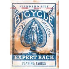 Baralho Bicycle Expert Back Azul R+