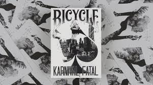 Baralho Bicycle Karnival  Fatal M+