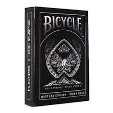 Baralho Bicycle Master Edition Shadow - Ellusionist - Premium b+ up