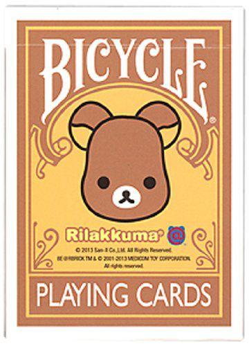 Baralho Bicycle Rilakkuma B+