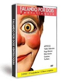 03 Dvds Falando Por Dois Ventriloquia D+