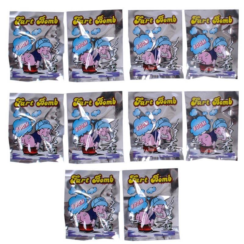 10 Bombas de Peido - Fart Bomb R+
