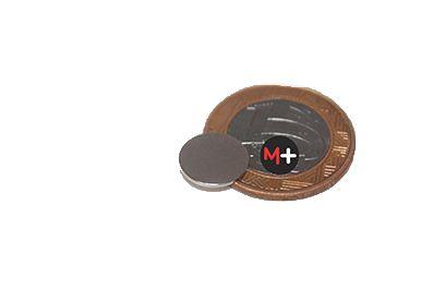 10 Imãs Neodímio 10X1mm (Carta) M+