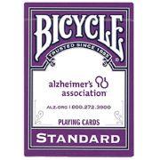 Baralho Bicycle Standard Roxo da Alzheimer's Association