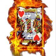 10 Cartas Carta Flash - Rei ou dama ou valetes ou dorso  B+