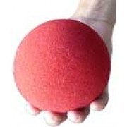 Bola de Espuma grande Jumbo super soft 4 inch cor vermelho