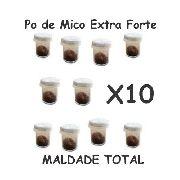 10 Pó De Mico - Maldade Total Pó Que Coça Extra Forte R+