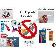 Kit De Pegadinha Espante Fumante - Sacanagem Com Quem Fuma