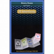 3D ADVERTISING + DVD  - HENRY EVANS