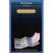 3D ADVERTISING + DVD  - HENRY EVANS