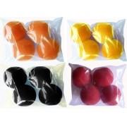 4 Bolas de Espuma- 1,5 Inch Cores Variadas M+