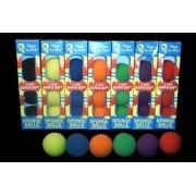 4 BOLAS DE ESPUMA GOSHMAN Super Soft 2 inch COR variadas