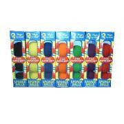4 Bolas de Espuma Goshman Super Soft 2 Inch Cores Variadas R+