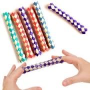 50 Chinese Finger Traps - 50 Algemas  de Dedos R+