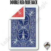 5 Cartas Duplo Dorso Bicycle Vermelho e  Azul