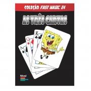As 3 Cartas Bob Esponja - Coleção Fast Magic N 24 R+