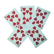 As 5 cartas versão 2.0 em PVC - Super Cartas Mentalistas. R+