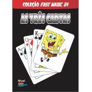 As 3 Cartas Bob Esponja - Coleção Fast Magic N 24 B+
