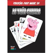 As 3 Cartas Peppa Pig - Coleção Fast Magic N 24 R+