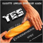 baguete pão extra dimensional - Extradimensional space (Baguette)