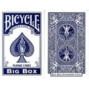 Baralho Bicycle Big Box Azul R+