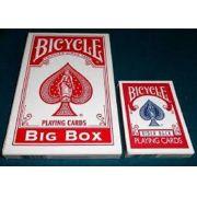Baralho Bicycle Big Box Vermelho