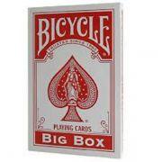 Baralho Bicycle Big Box Vermelho R+