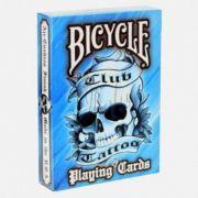 Baralho Bicycle Civil Club Tattoo Azul M+