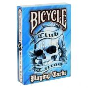 Baralho Bicycle Civil Club Tattoo Azul R+