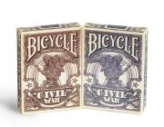 Baralho BICYCLE CIVIL WAR AZUL OU VERMELHO