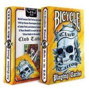 Baralho Bicycle  Club Tattoo Laranja M+