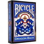 Baralho Bicycle  Dragon Back Blue R+