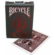 Baralho Bicycle Foil Back Crimson
