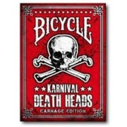 BARALHO BICYCLE KARNIVAL DEATH HEADS